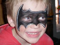 batman Face Painter Utah