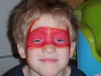 Flash Gordon Face Painter Utah