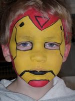 Iron Man Face Painter Utah