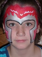 Magneto Face Painter Utah