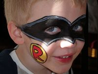 Robin Face Painter Utah