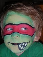 Teenage Mutant Ninja Turtles Face Painter Utah