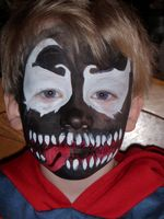 Venom Face Painter Utah