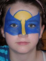 Wolverine Mask Face Paint