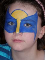 Wolverine Face painter Utah